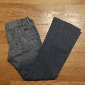 7 for all mankind Jeans, wide/flare leg size 32